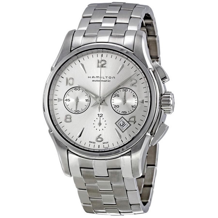 Hamilton Jazzmaster Automatic Chronograph Men S Watch H32656153