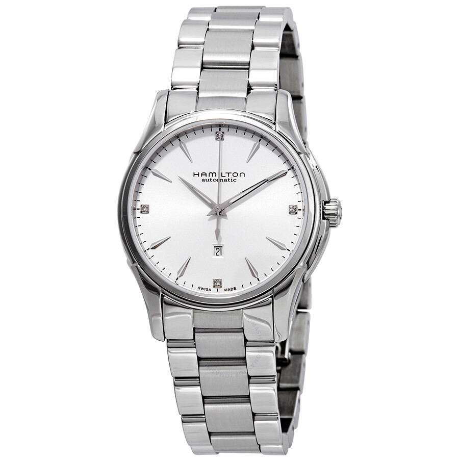 Hamilton Jazzmaster Automatic Diamond Silver Dial Ladies Watch H32315111