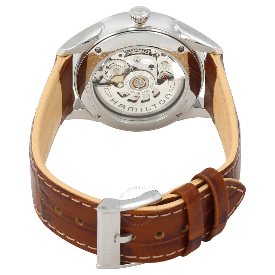 Jazzmaster Automatic Silver Dial Ladies Watch H32405551