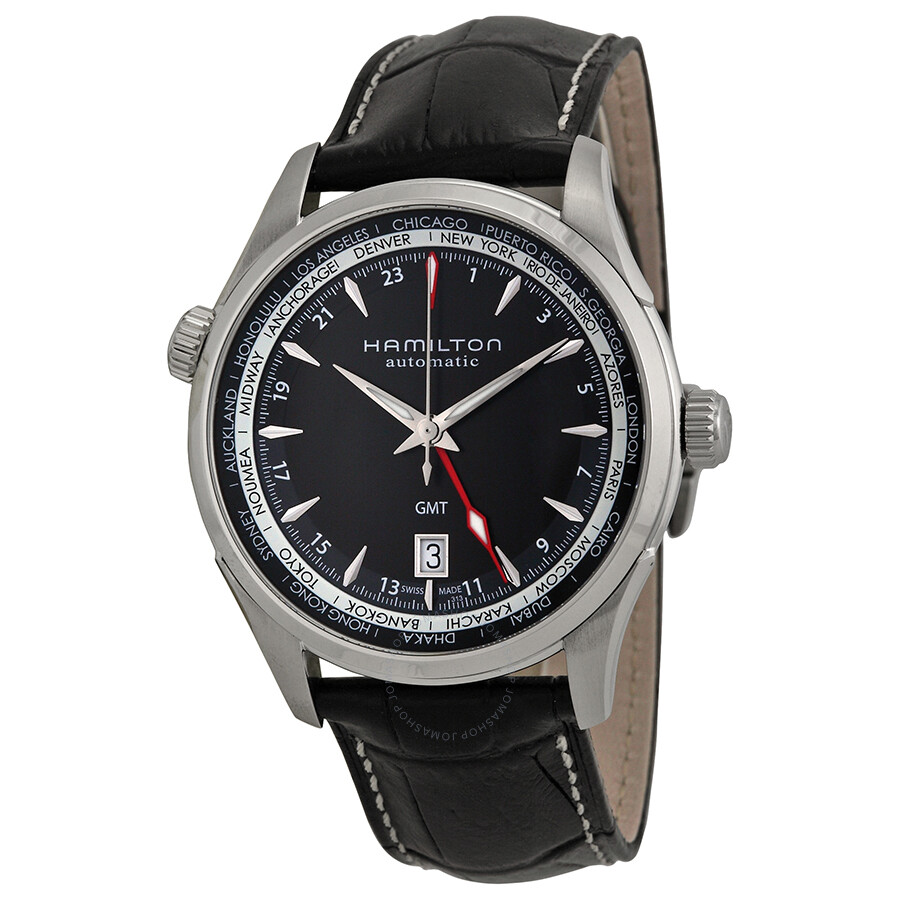 Hamilton Jazzmaster GMT Automatic Men's Watch Watch ...