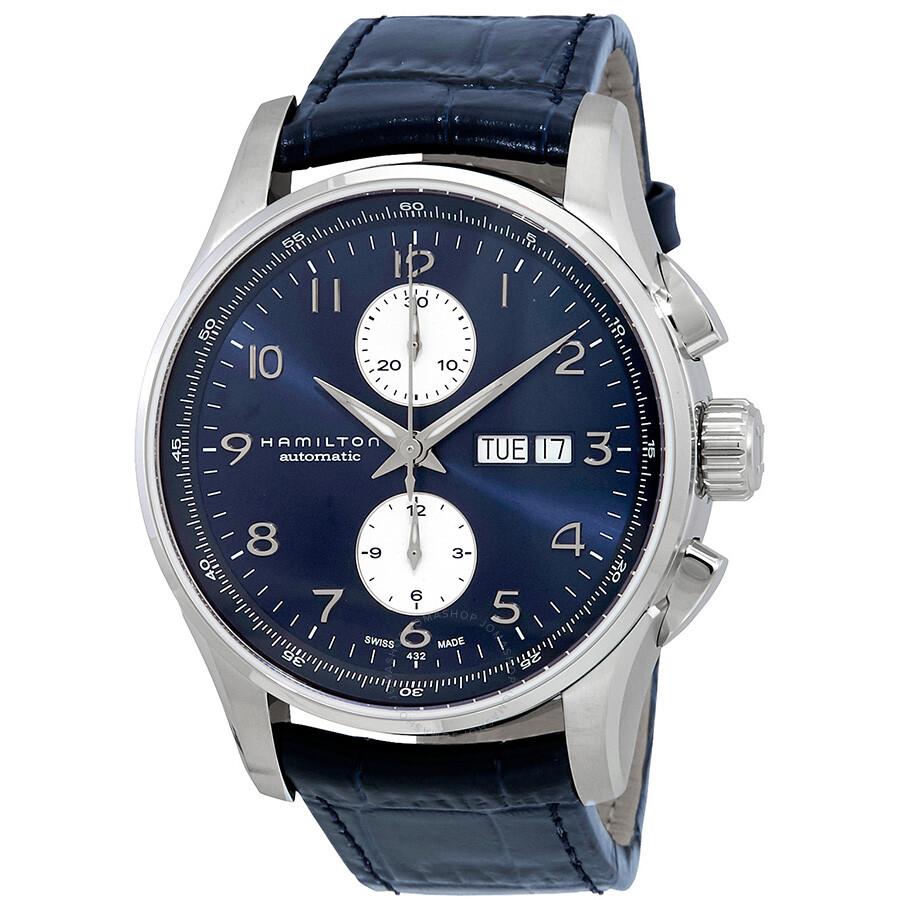 9d86477c432 Hamilton Jazzmaster Maestro Automatic Blue Dial Men s Watch H32766643 ...