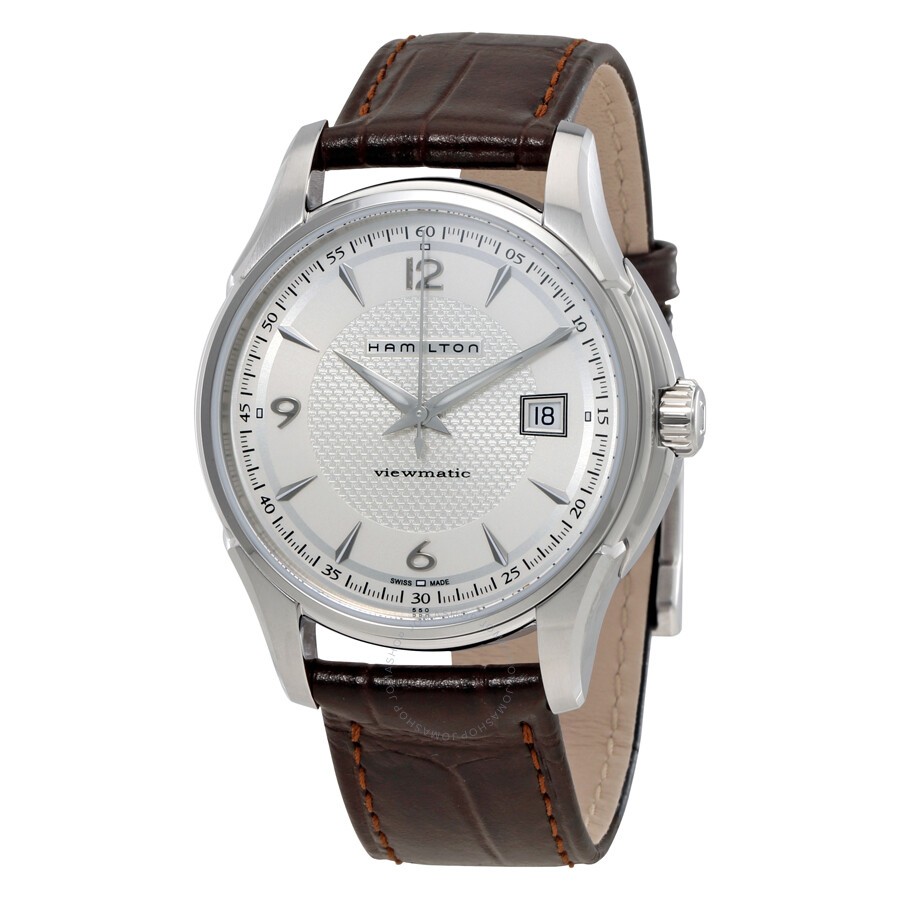 hamilton jazzmaster viewmatic automatic men s watch h32515555