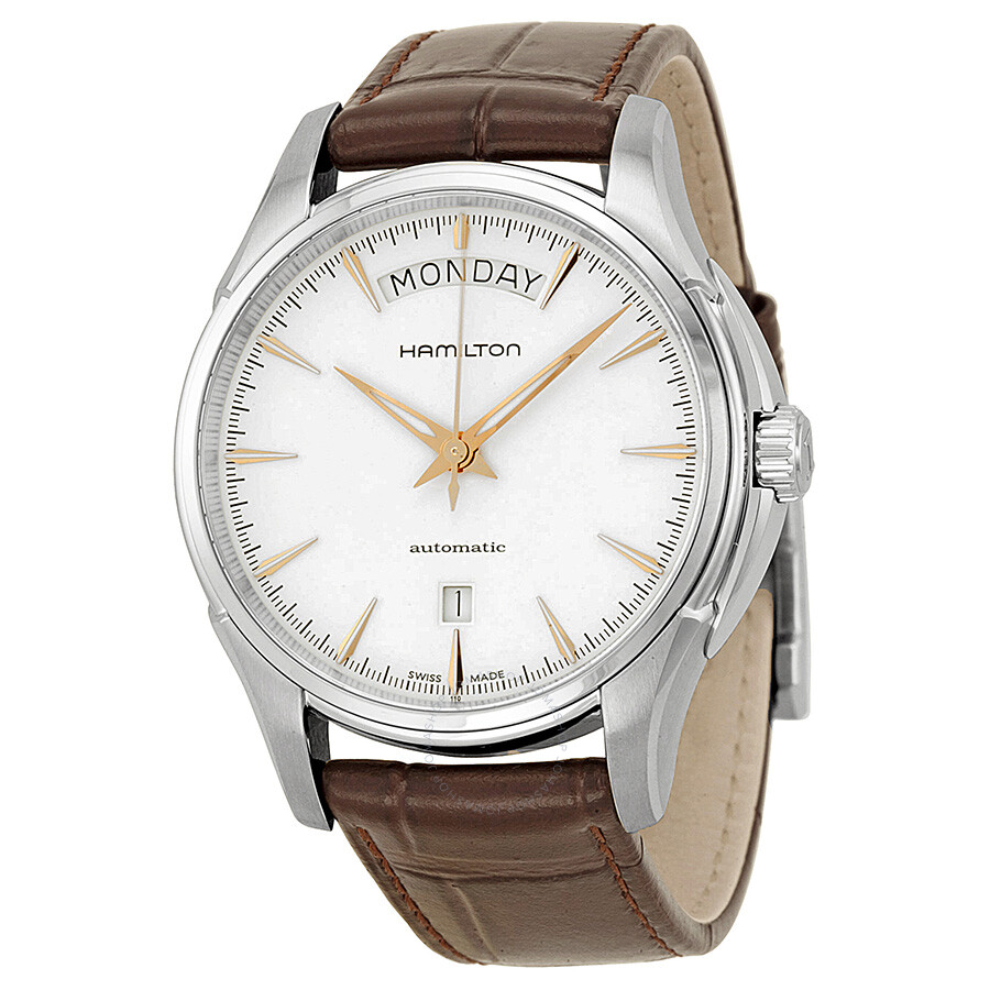 Hamilton Jazzmaster White Dial Stainless Steel Men's Watch