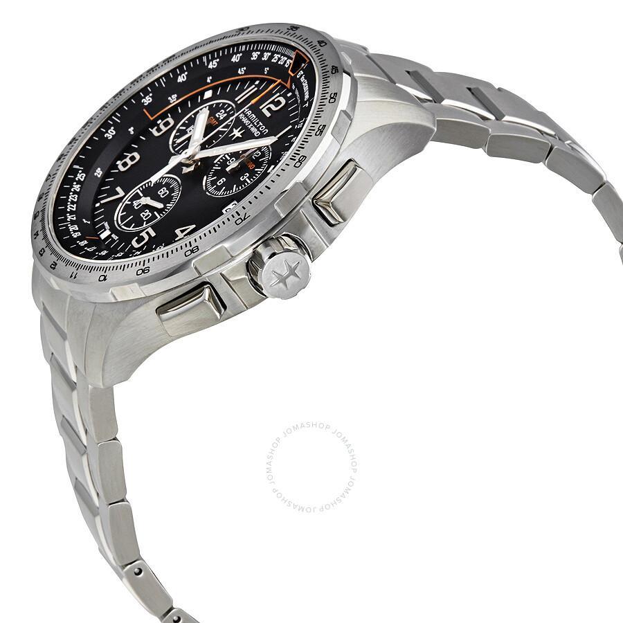 ... Hamilton Khaki Aviation X-Wind Chronograph Men s Watch H77912135 ... 32bafdf3203