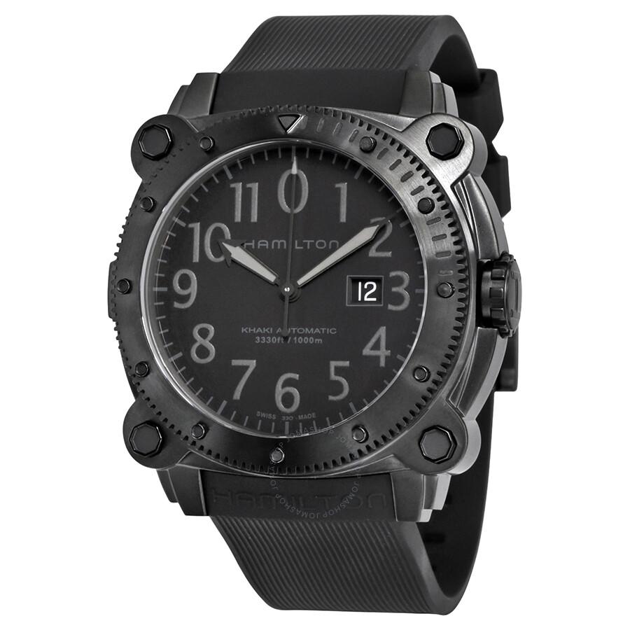 525df47c2 Hamilton Khaki Belowzero Men's Watch H78585333 - Khaki Navy ...
