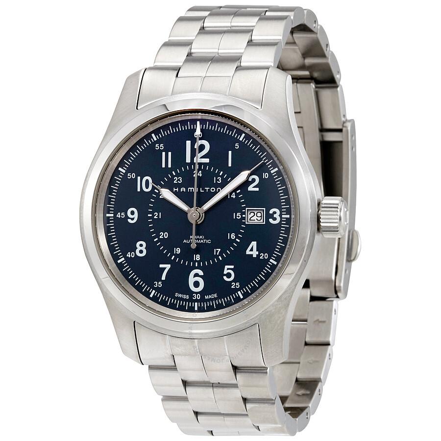 Hamilton Khaki Field Automatic Men s Watch H70605143 - Khaki Field ... cf5be68fd