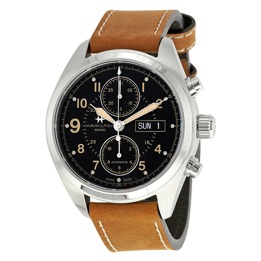 b060defb2 Hamilton Khaki Field Automatic Chronograph Men's Watch H71616535 ...