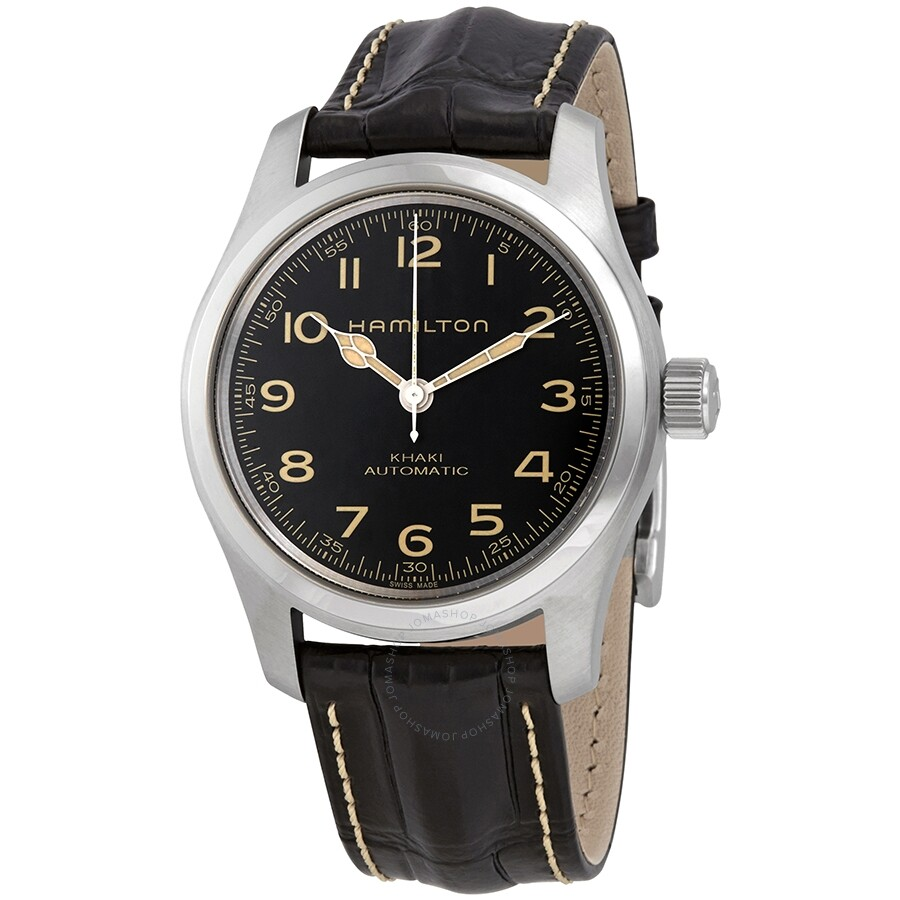 f767f8bdf Hamilton Khaki Field Murph Automatic Black Dial Men's Watch H70605731 ...