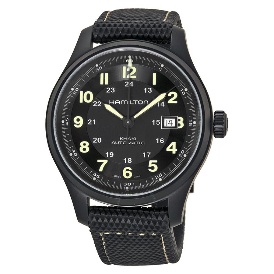 a32cf6b1c33 Hamilton Khaki Field Titanium Men s Watch H70575733 - Khaki Field ...