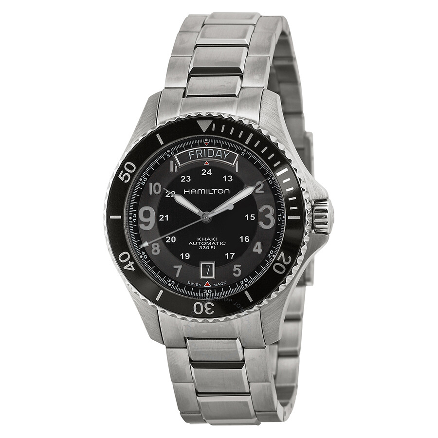 hamilton khaki king s automatic black dial men s watch hamilton khaki king s automatic black dial men s watch h64515133