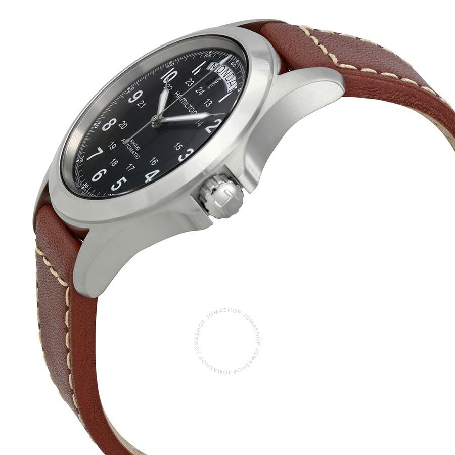 7dedf838b5c Hamilton Khaki King Series Automatic Men s Watch H64455533 - Khaki ...