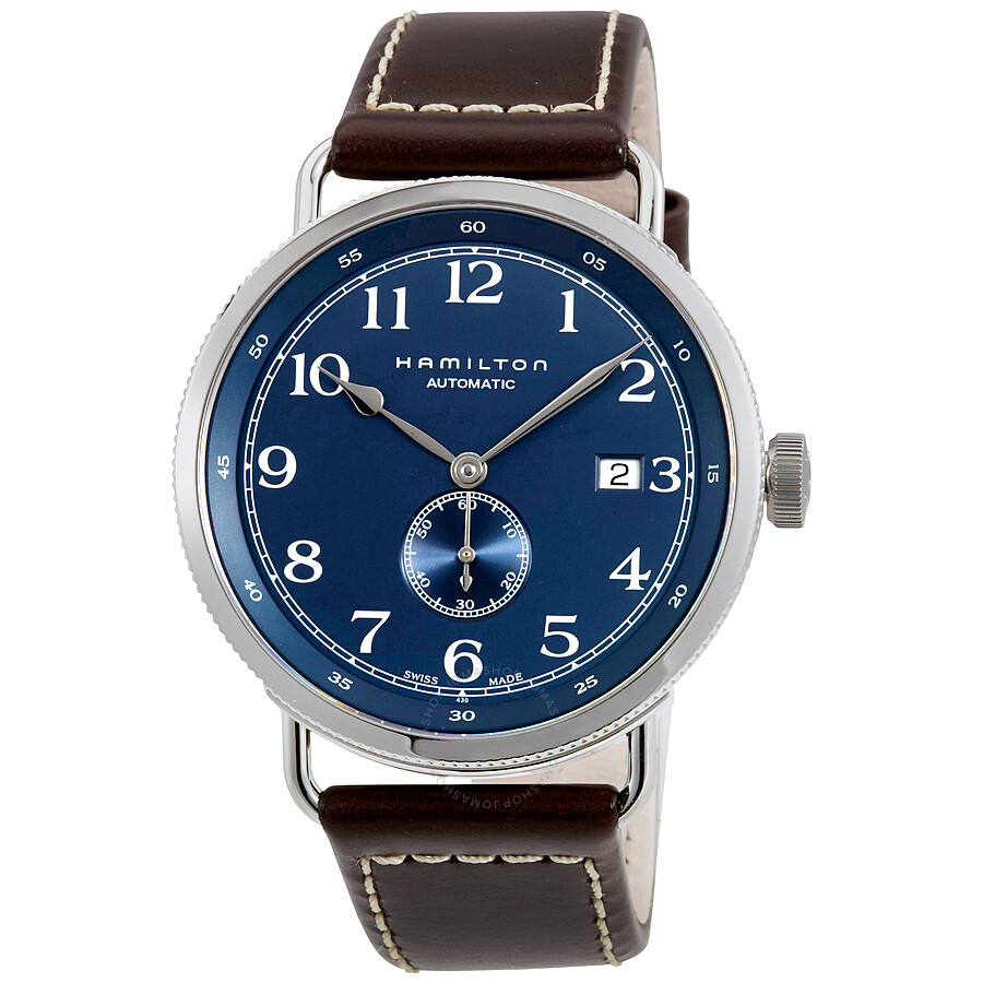 4651473444f Hamilton Khaki Navy Pioneer Automatic Navy Dial Men s Watch H78455543 ...