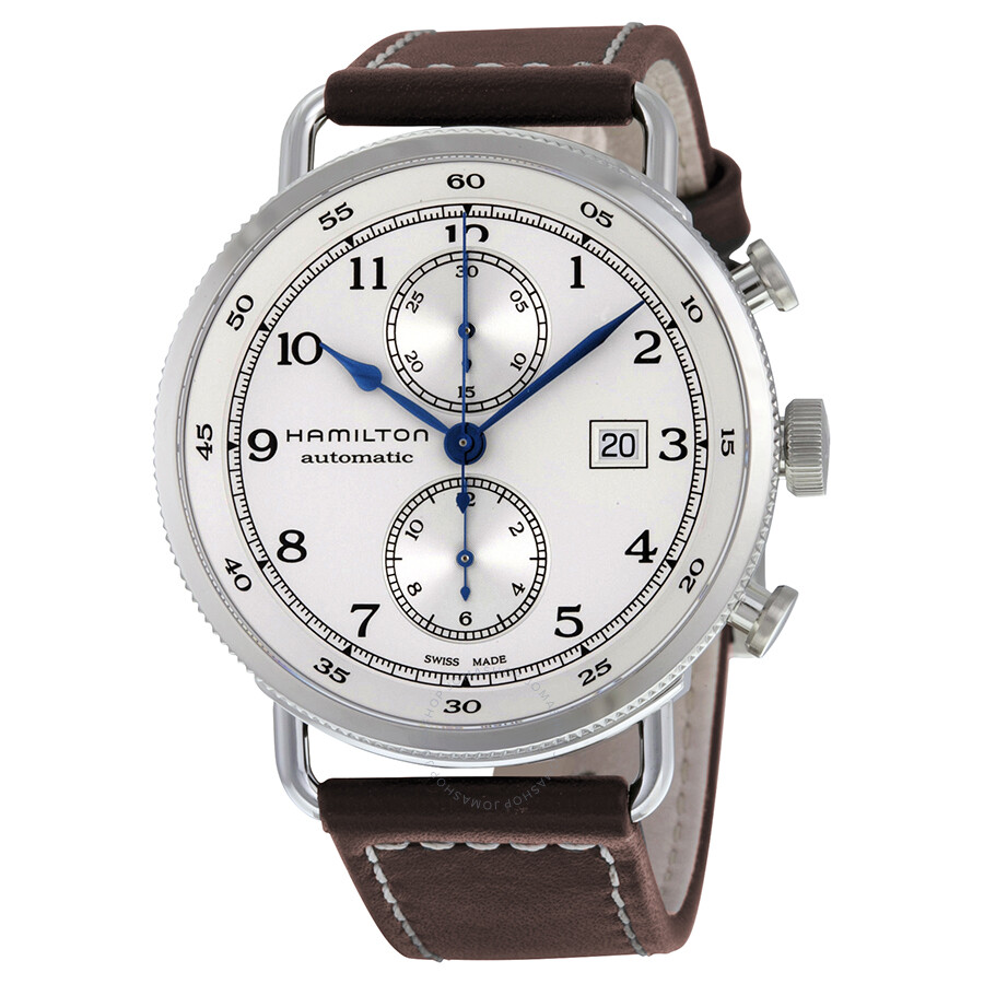 6cae282f2ed Hamilton Khaki Navy Pioneer Chronograph Automatic Men s Watch H77706553 ...