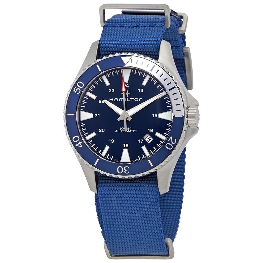 Hamilton Khaki Navy Scuba Nato Automatic Men S Watch H82345941