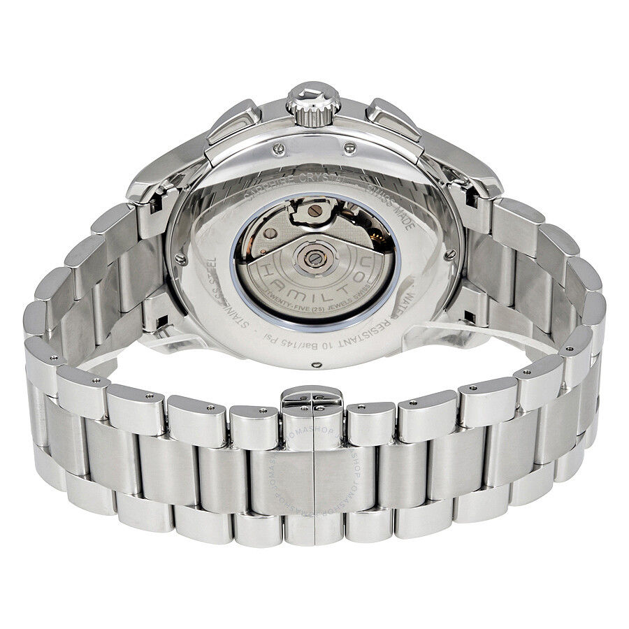 Hamilton Lord Hamilton Black Dial Automatic Chronograph Men S Watch H32816131