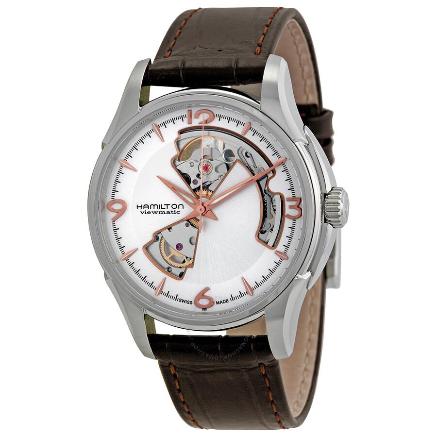 5f7ad6f681c7 Hamilton Men s Jazzmaster Open Heart Watch H32565555 - Jazzmaster ...