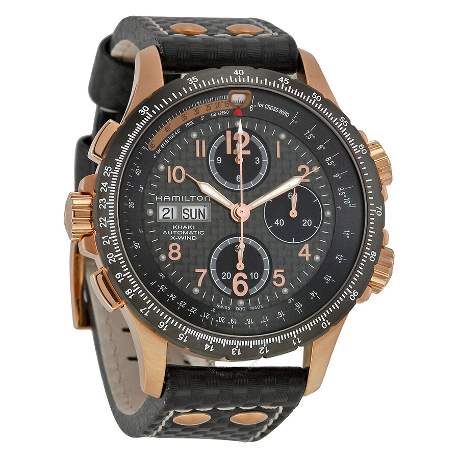 Hamilton Men s Khaki X Wind Automatic Men s Watch H77696793 - Khaki ... 6c18d6755b34