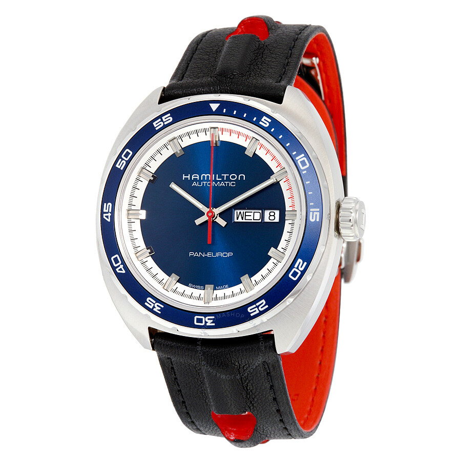 Hamilton Pan Europ Day-Date Automatic Men's Watch