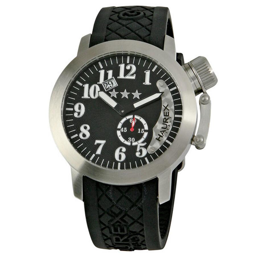 Haurex italy armata men 39 s watch 1a320un1 haurex italy watches jomashop for Haurex watches