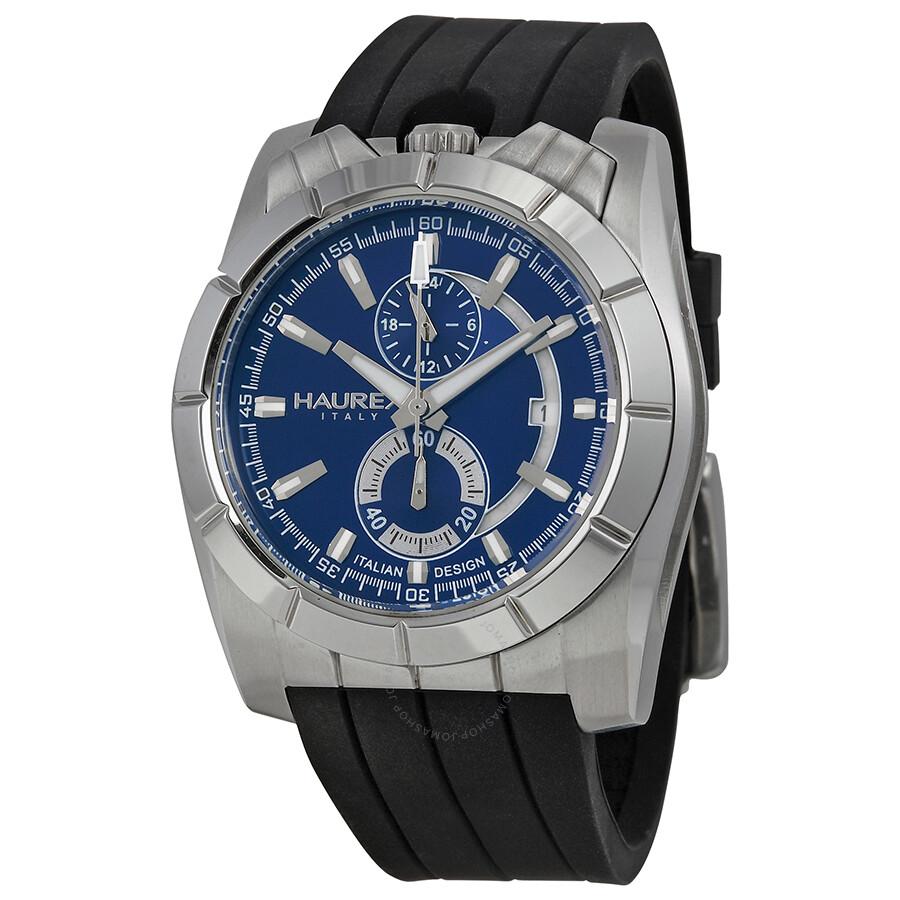 Haurex italy chronograph men 39 s watch 3a358ubb haurex italy watches jomashop for Haurex watches