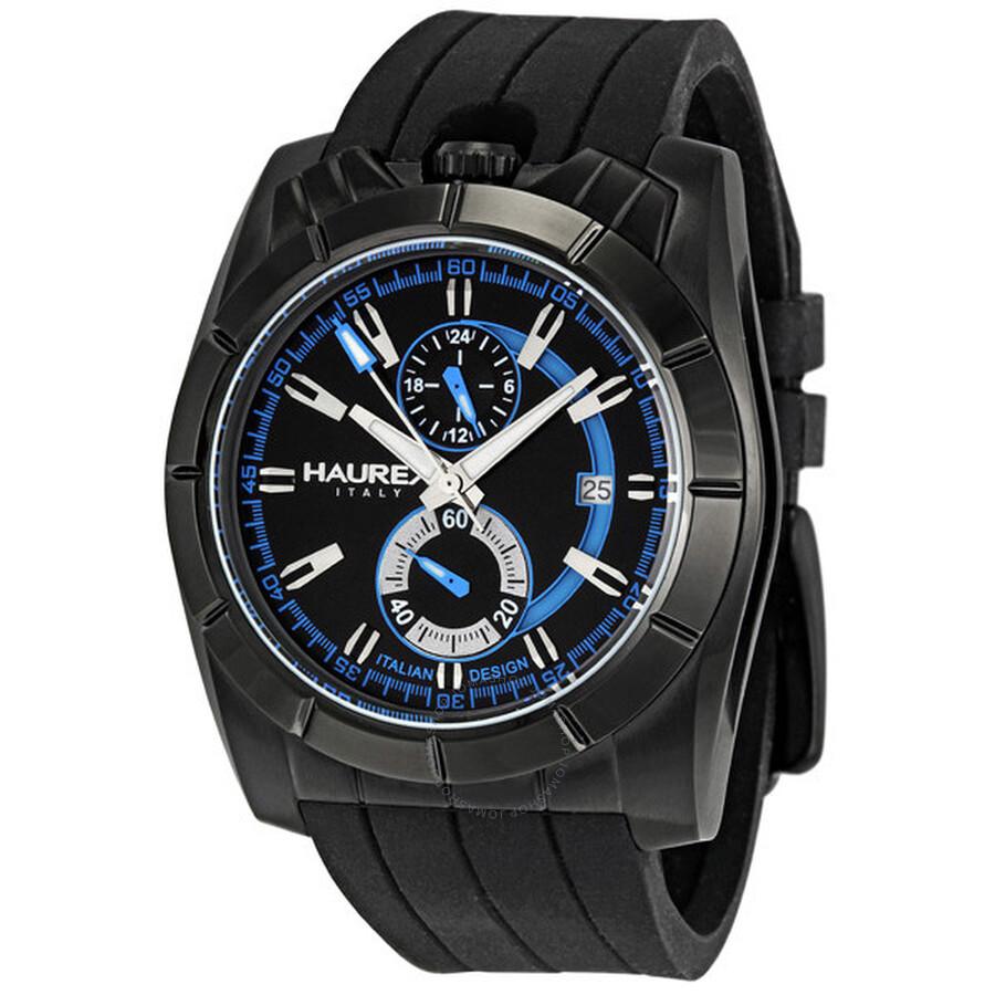 Haurex italy chronograph men 39 s watch 3n358unb haurex italy watches jomashop for Haurex watches