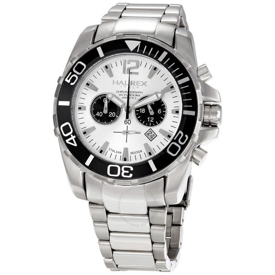 Haurex italy men 39 s caimano chronograph divers watch 0a354usn haurex italy watches jomashop for Haurex watches