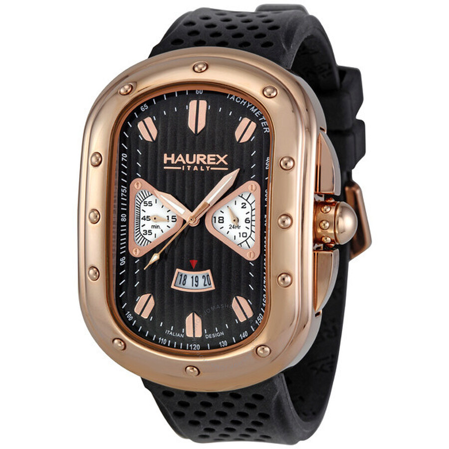 Haurex italy men 39 s ricurvo watch 3r338umh haurex italy watches jomashop for Haurex watches