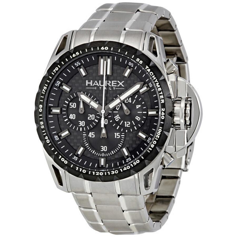 Haurex italy talento r chronograph men 39 s watch 0d367unn haurex italy watches jomashop for Haurex watches