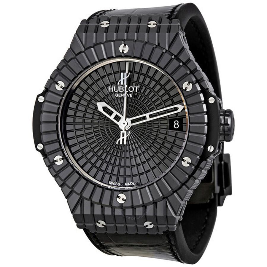 Hublot Big Bang Caviar Black Ceramic Men's Watch ...