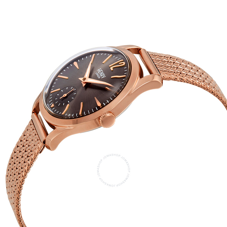 Henry London Finchley Grey Dial Ladies Watch HL30-UM-0116 - Casual ... 43af7d3965