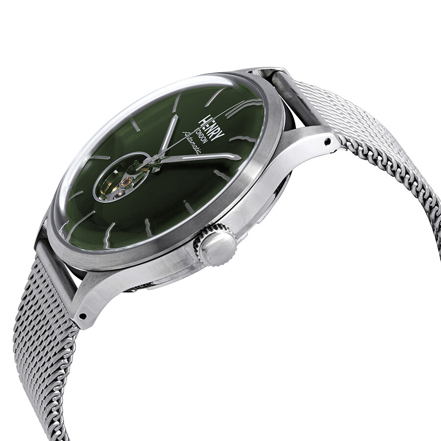 e88964b091a ... Henry London Heritage Automatic Green Dial Men s Watch HL42-AM-0283 ...
