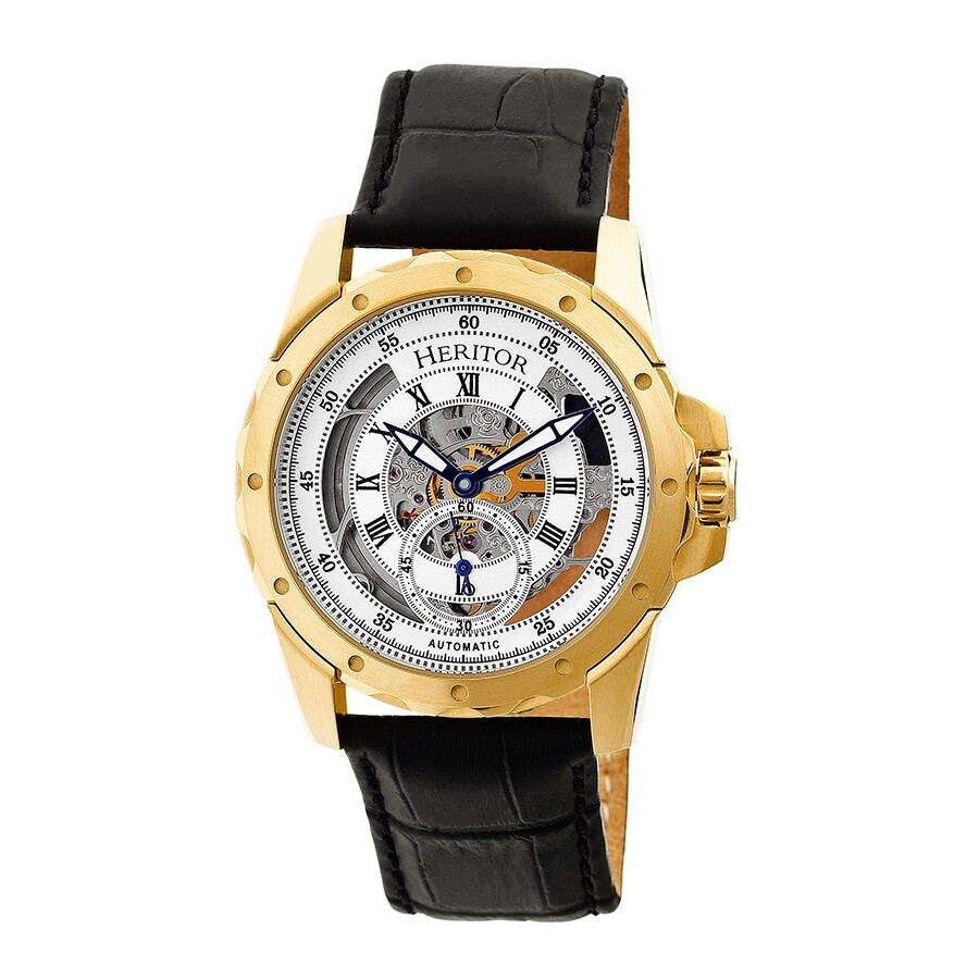1493754d4 Heritor Armstrong Skeleton Dial Automatic Men's Watch HR3403 ...