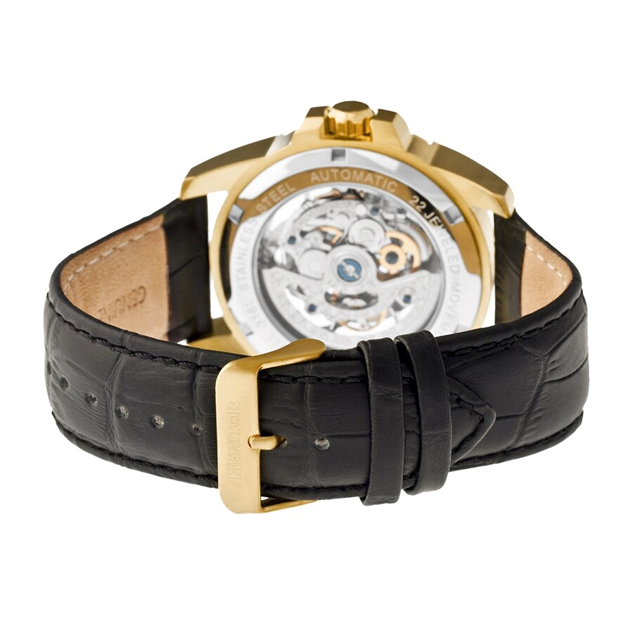 a27877990 ... Heritor Armstrong Skeleton Dial Automatic Men's Watch HR3403