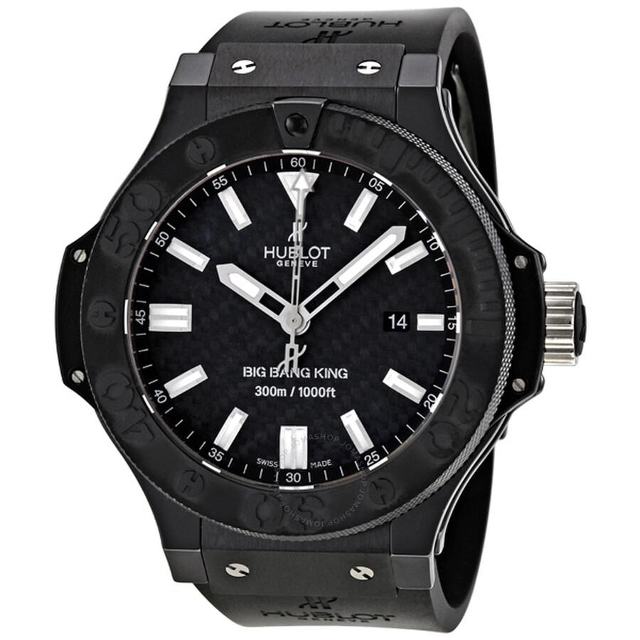 Hublot Big Bang Black Magic Carbon Fiber Men s Watch 322CM1770RX 3e22873379
