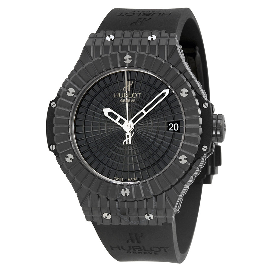 Hublot Big Bang Caviar Black Dial Automatic Men's Watch ...