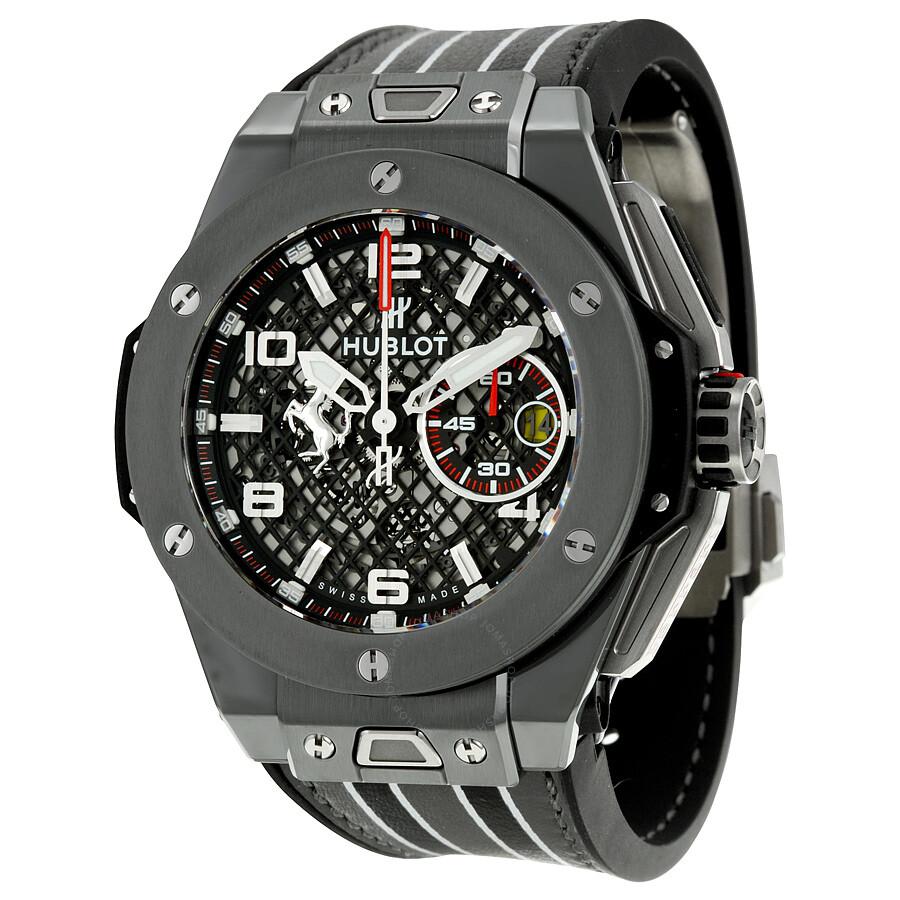 hublot big bang ferrari speciale limited edition chronograph men 39 s watch 401 big. Black Bedroom Furniture Sets. Home Design Ideas