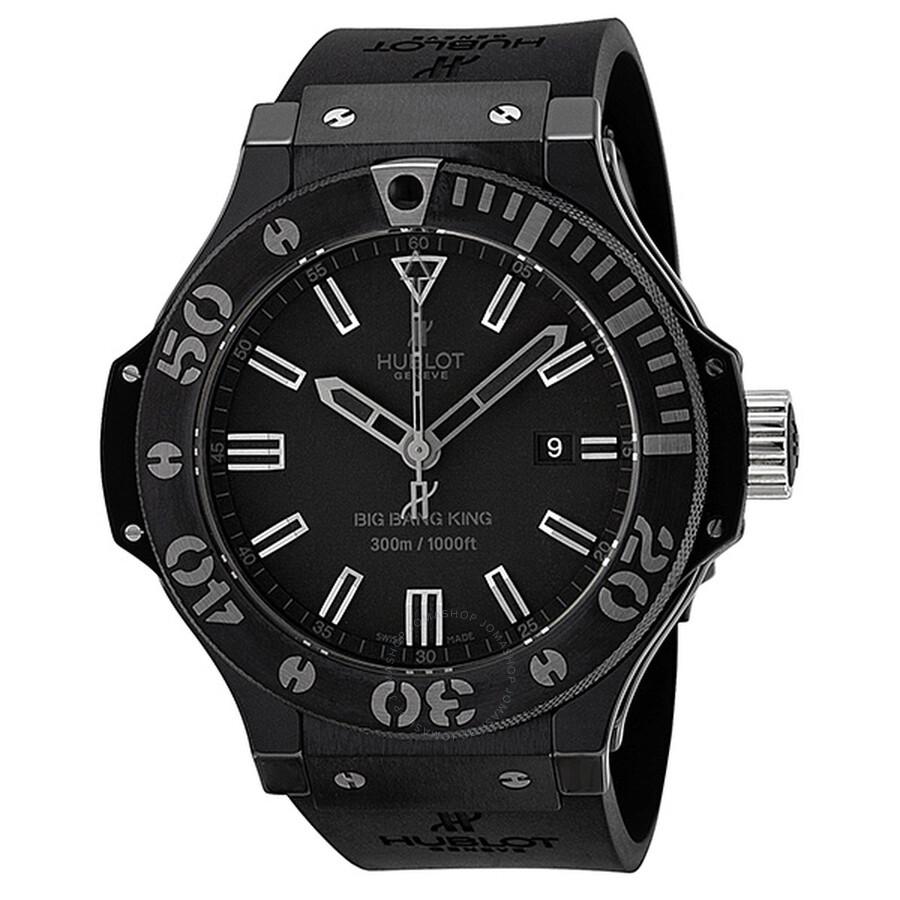 hublot big bang king black magic automatic black ceramic case men u0026 39 s watch 322-ck-1140-rx