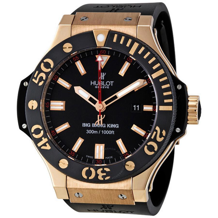 hublot big bang king gold men u0026 39 s watch 322 pm 100 rx - king power - hublot - watches
