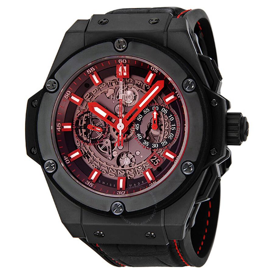 hublot big bang king power red magic automatic men u0026 39 s watch 701 ci 1123 gr - king power