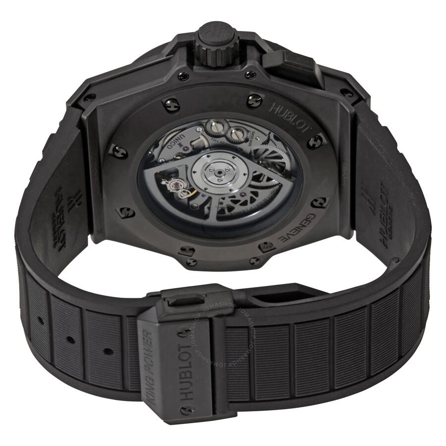 hublot big bang king power unico gmt skeleton dial ceramic men u0026 39 s watch 771 ci 1170 rx