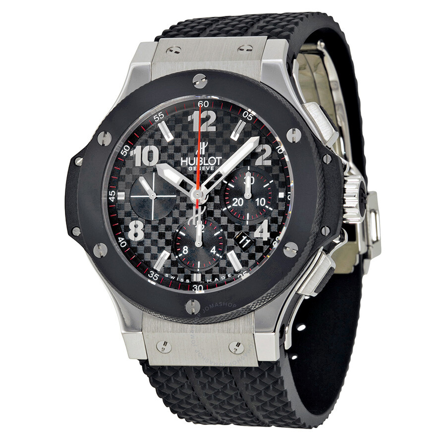 hublot big bang steel ceramic men 39 s watch 301 big bang hublot watches jomashop