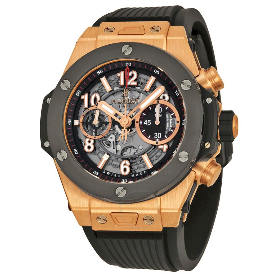 hublot big bang unico king gold ceramic skeletal dial men u0026 39 s watch 411 om 1180 rx