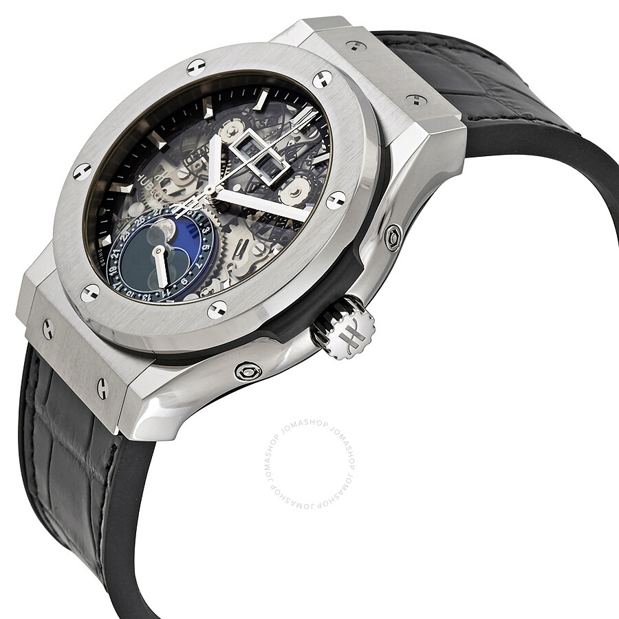 LR Hublot Classic Fusion Aerofusion Moonphase Automatic Men's Watch 547 .NX.0170.