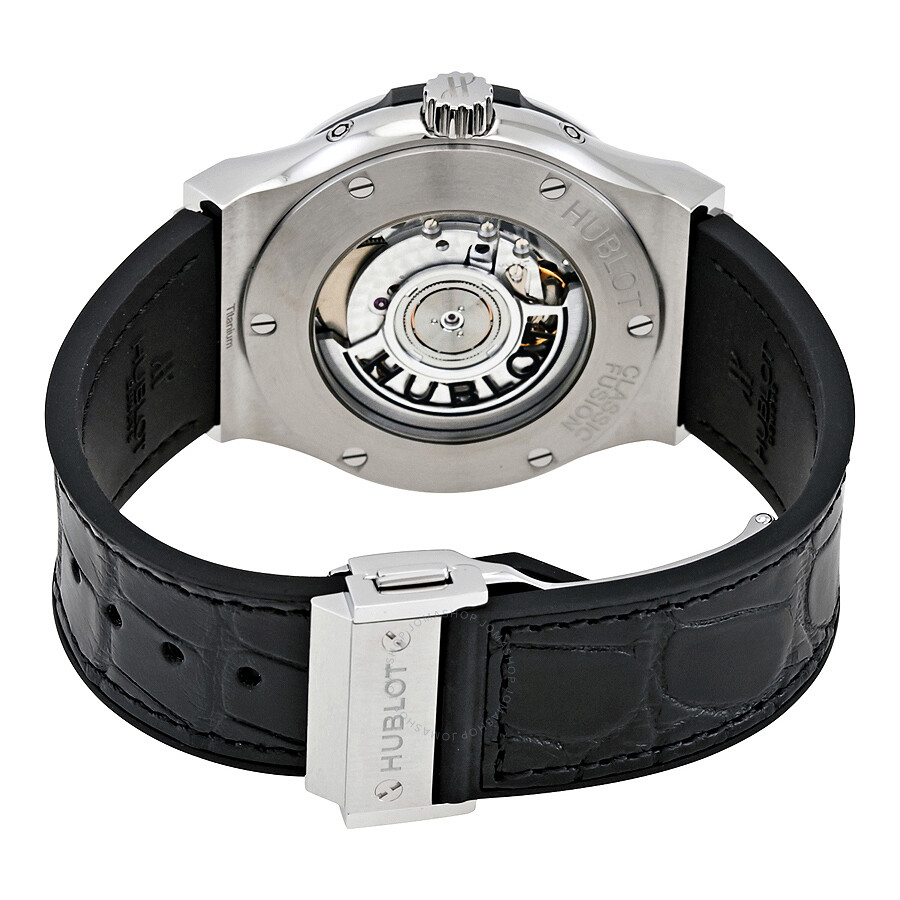 LR Hublot Classic Fusion Aerofusion Moonphase Automatic Men's Watch 547 .NX.0170.LR