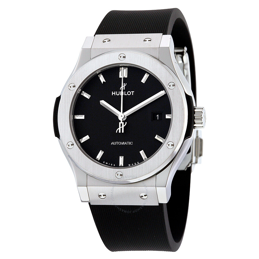 Hublot classic fusion automatic black dial men 39 s watch 542nx1171rx classic fusion hublot for Hublot watches