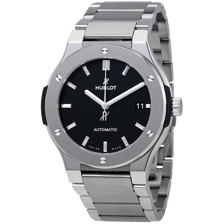 Hublot classic fusion automatic men 39 s watch 510 classic fusion hublot watches for Hublot watches