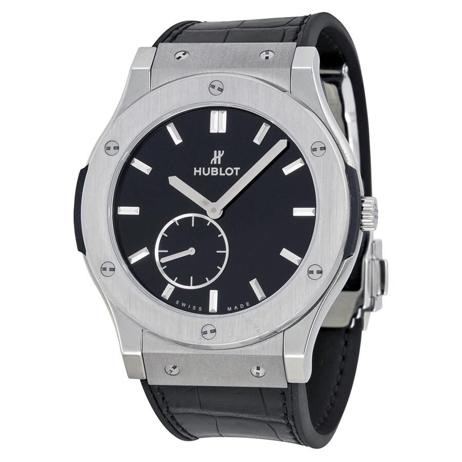 0f2c1c90074 Hublot Classic Fusion Black Dial Titanium Men s Watch 515NX1270LR