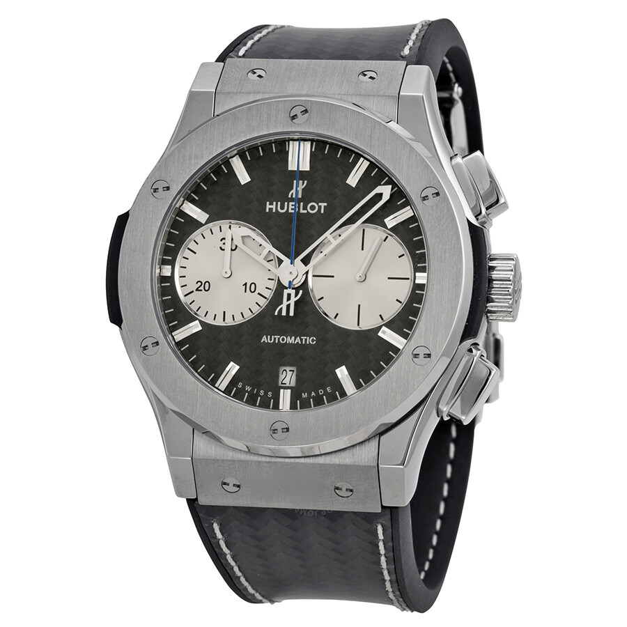 Hublot classic fusion bol d 39 or mirabaud black dial men 39 s watch classic for Watches hublot