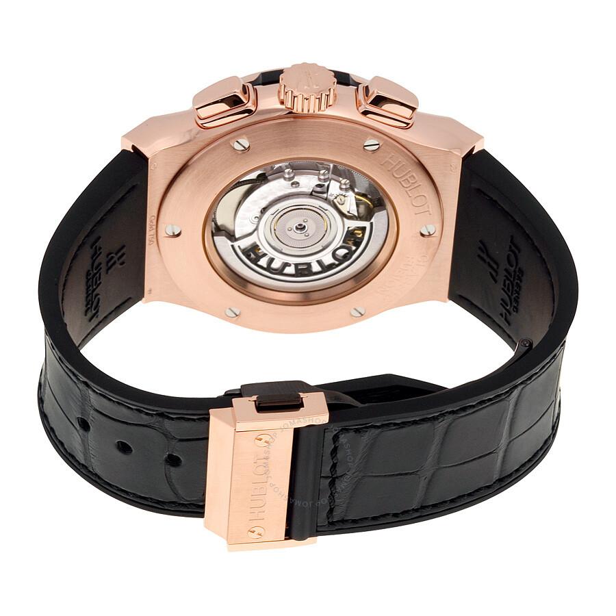 Hublot Classic Fusion Chronograph Black Dial Men S Watch