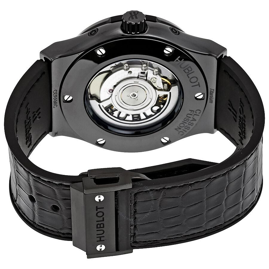 LR Hublot Classic Fusion Automatic Skeleton Dial Men's Watch 517.CX.0170.